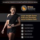 Premium Waist Trimmer Ultra Soft 3.5mm Neoprene Workout Sweat Belt. Sweet Ab Belt For Men & Women with Sauna Effect - Waist Trainer Corset For Weight Loss Wrap - Flex Belt with 2 Free Bonus Gifts!