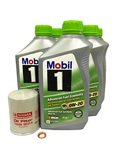 nissan 0w20 synthetic oil - 1