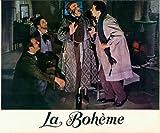 LA BOHEME 1965 ORIGINAL LOBBY CARD GIANNI RAIMONDI ROLONDO PANERAI