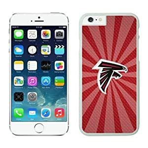 NFL&Atlanta Falcons iphone 6 Cases White 4.7 inches cell phone cases&Gift Holiday&Christmas Gifts PHNK625783