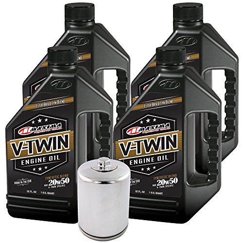 - MaximaHiflofiltro VTEOCK24 Synthetic Blend Engine Oil Change Kit for Harley Davidson Twin Cam V-Twin