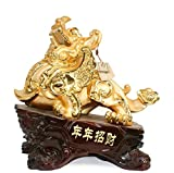 GL&G Lucky Decoration large Living room Collectible Figurines Opening gift Send customers office Tabletop Scenes Ornaments Sculptures Statues,A,633157cm