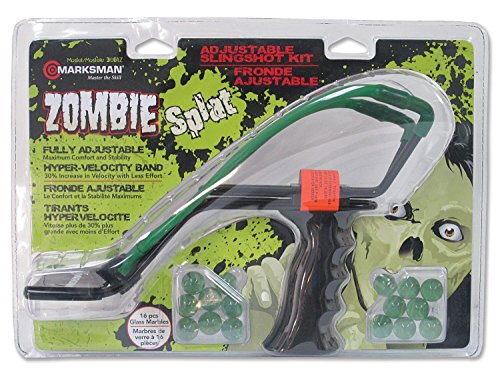 Beeman Zombie Steel Yoke Glass Marbles Slingshot (Glass Slingshot)