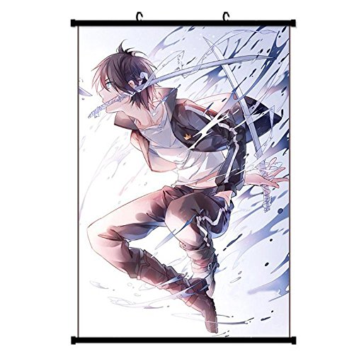 Onecos Noragami Logo Poster Fabric Painting Wall Picture Scr