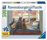 Ravensburger 14903 Window Buddies - 500 Piece Large Format Puzzle Puzzle