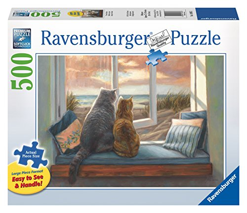 Ravensburger 14903 Window Buddies - 500 Piece Large Format Puzzle Puzzle