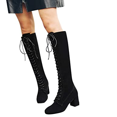 425cca27ee88 Image Unavailable. Image not available for. Color  NEARTIME ❤️Womens Long  Martain Boots
