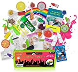 Original Stationery Ultimate Slime Kit: DIY Slime Making Kit with Slime Add Ins Stuff for Unicorn, Glitter, Cloud, Butter, Floam and More - Deluxe Slime Kits for Girls and Boys (Green, 53pcs)