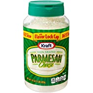 Kraft Grated Parmesan Cheese, 16-Ounce Plastic Canister (Pack of 3)