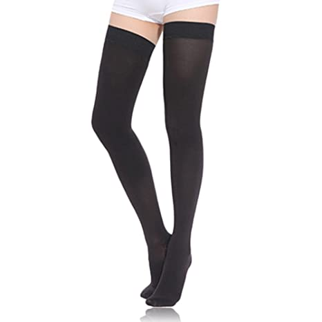 a33ae8dc759 Amazon.com  Ztl Thigh High Compression Stockings Women Men