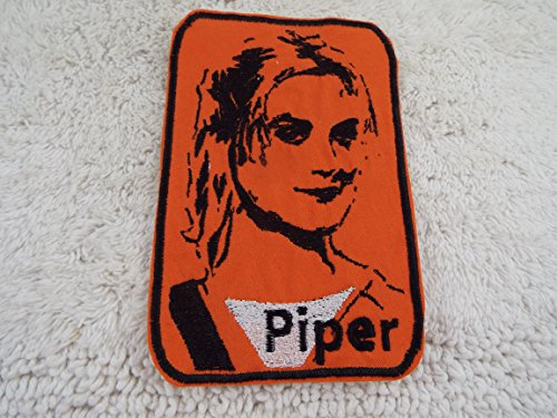 Orange is the New Black PIPER CHAPMAN Character Embroidered Iron-on Patch ()