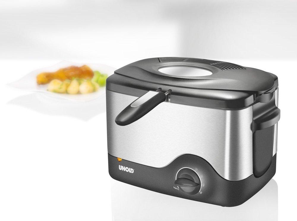 Unold Mini Kühlschrank : Amazon.de: unold electro 58615 kompakt fritteuse