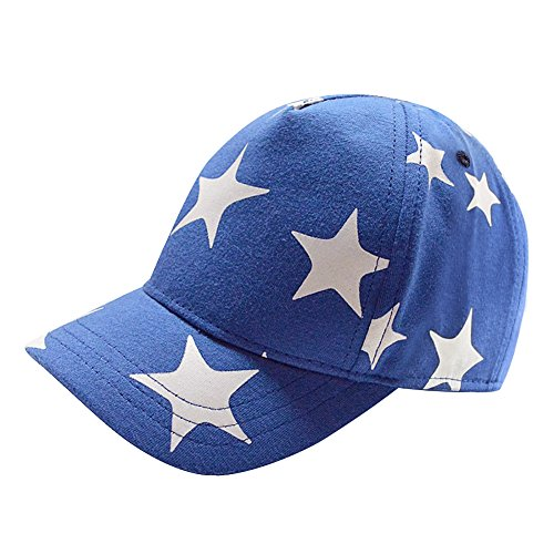 (Home Prefer Kids Trucker Hat Boys Cotton Baseball Cap Sun Protective Caps for Outdoor Sports #52 Sky Blue)