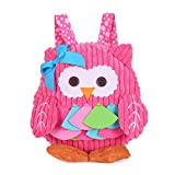 Mini Toddler Backpack for Kids Cute Animal Cartoon Preschool Children Plush Bag