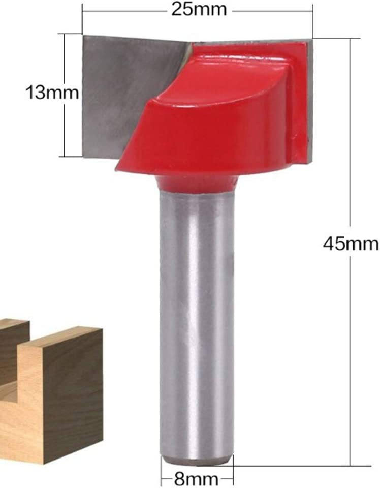 18mm Amuzocity 8mm Schaftreinigung Bodenfr/äser Fr/äser F/ür MDF Holzbearbeitung