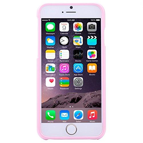 Phone Taschen & Schalen Für IPhone 6 u. 6S, Gelee schimmernder Puder TPU Fall ( Color : Pink )