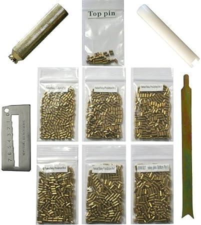 100 PC Pieces Kwikset Rekey Bottom Pins #6 Locksmith Rekeying Pin Kits