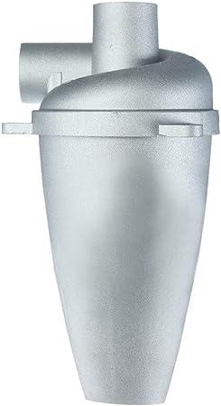 MXQIN Aspirador ciclón colector de polvo del filtro con turbocompresor de quinta generación del polvo del polvo del colector separador de aluminio de aleación 1PC Fácil de actualizar su aspiradora: Amazon.es: Hogar