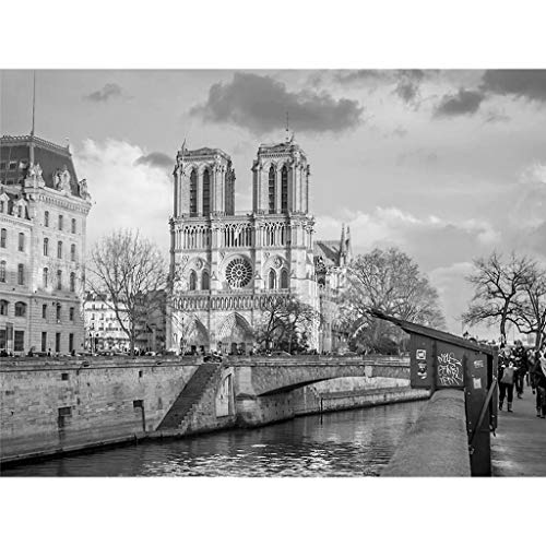 aliveGOT DIY 5D Diamond Painting Kits for Adults Full Drill Embroidery Paintings Rhinestone Pasted DIY Painting Cross Stitch Arts Crafts for Home Wall Decor 30x40cm,Notre Dame de Paris