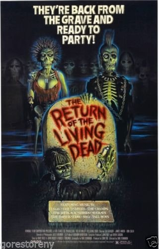 "Return of the Living Dead  Movie Poster 24""x36"""