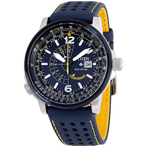 (Citizen Watches Men's BJ7007-02L Eco-Drive Blue One Size)
