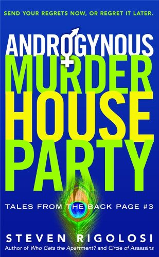 Androgynous Murder House Party (Tales from the Back Page Book 3)
