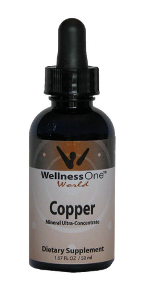 Copper - Premium Liquid Mineral (100 days at 2mg Per 10 Drop Serving) 50 ml bottle