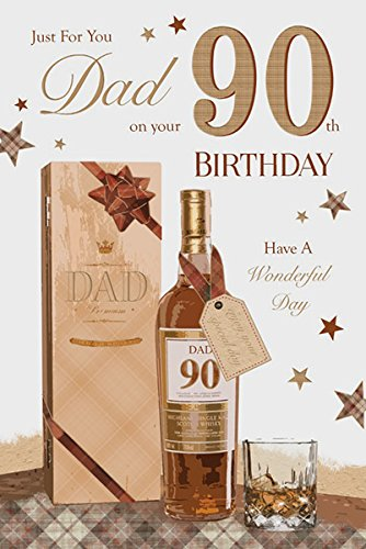 For You Dad 90 90th Happy Birthday Planes Design Good Quality Card With A Lovely Verse Amazoncouk Kitchen Home