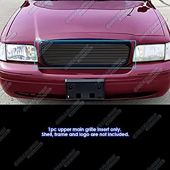 Ford Crown Victoria 03-11 Front Grille Car Black SAM