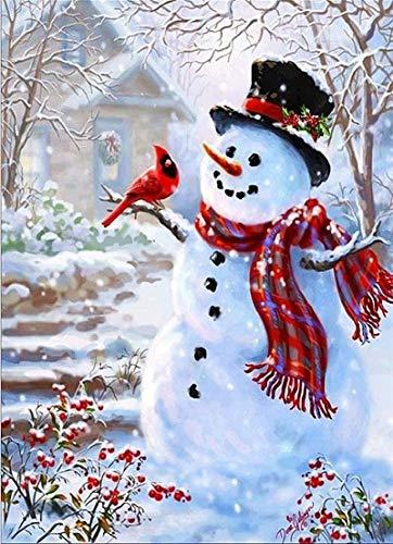 KYKDY Digitale malerei by zahlen weihnachten hirsch weihnachtsmann floral acrylfarbe moderne wandkunst malerei home hotel deco deal, ph9500,40x50cm diy rahmen B07MW8PP7M   Hohe Qualität Und Geringen Overhead