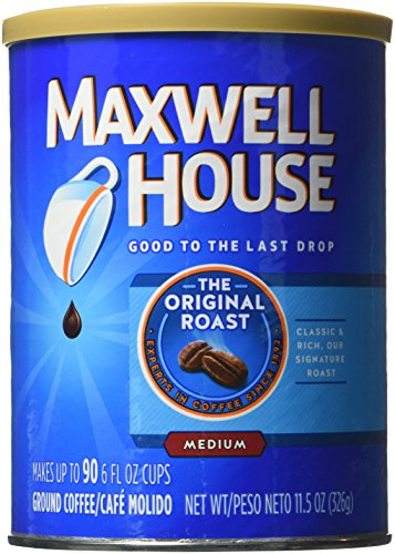 Maxwell House Ground Coffee, Original Roast, 11.5 Ounce (6 Count)
