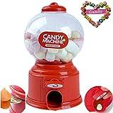Jalea Dulce Lindo Mini Chicle Frijoles Azúcar Máquina expendedora Snack dispensador Novedad Fiesta Cumpleaños Regalo Navidad Juguete para Niños Niños