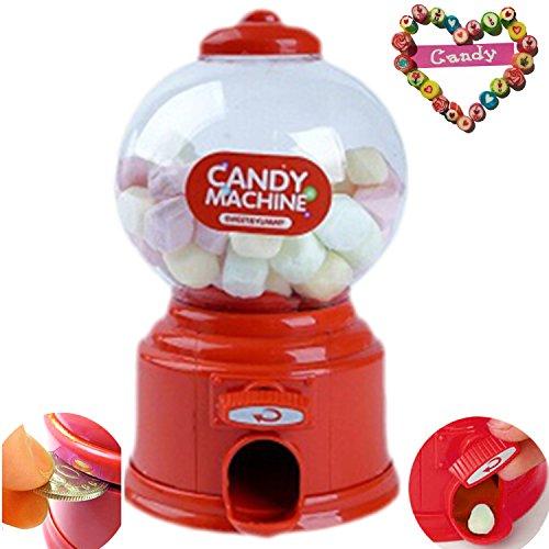 Jalea Dulce Lindo Mini Chicle Frijoles Azúcar Máquina expendedora Snack dispensador Novedad Fiesta Cumpleaños Regalo...