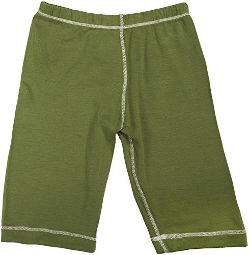 KicKee Pants Unisex Child Basic Pants - Moss - 2T