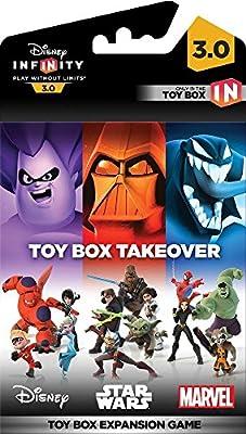 Disney Infinity 3.0 - Toy Box Game Piece Takeover: Amazon.es ...