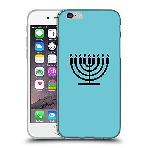 "GoGoMobile Coque de Protection TPU Silicone Case pour // Q08420627 Religion 6 Cyan // Apple iPhone 6 PLUS 5.5"""