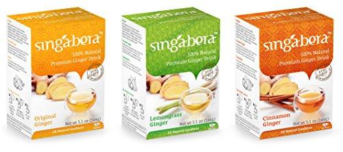 Singabera Premium Ginger Mixpack (Pack of 3) 5.1oz by Singabera
