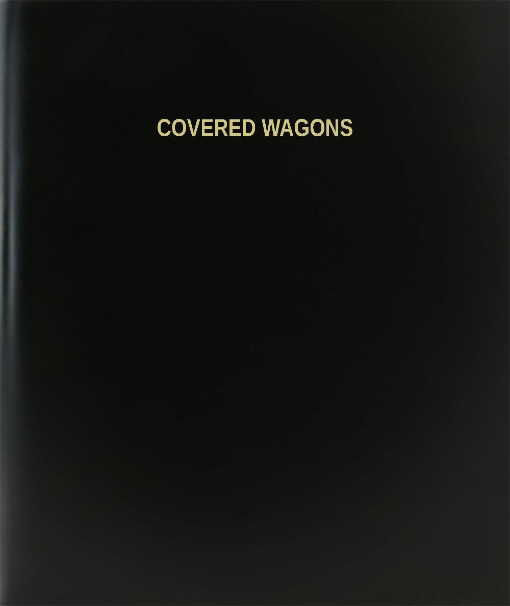 BookFactory Covered Wagonsログブック/日記/ – 120ページ、8.5
