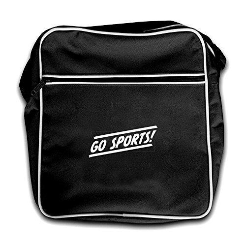 Dressdown Black Sports Bag Flight Go Red Retro qnFU48xq