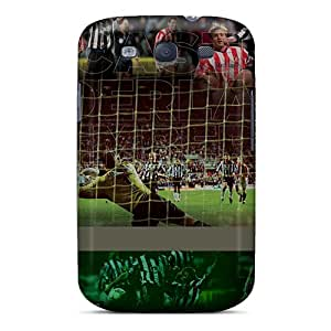 SIXBS3919mjXFd Tpu Phone Case With Fashionable Look For Galaxy S3 - The Famous Team Sunderland