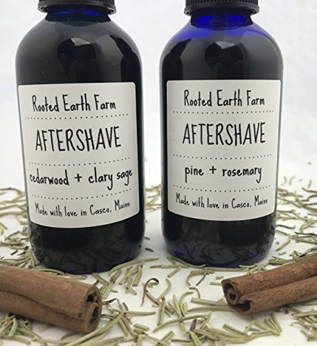 Natural Herbal Aftershave, 2 scent options
