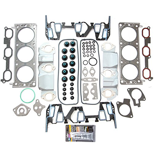 SCITOO Compatible with Head Gasket Set Fits 96-05 Oldsmobile Buick Chevrolet Pontiac 3.1L 3.4L VIN E J (1999 Pontiac Grand Am Head Gasket Replacement)