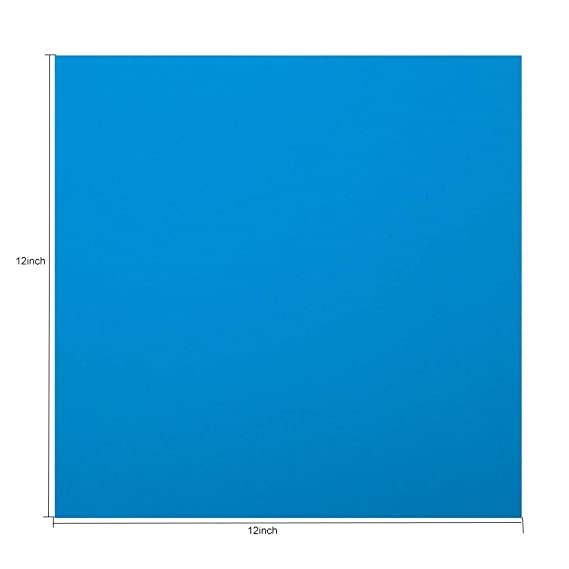 Amazon com: HOHOFILM Clear Blue Acrylic Sheet 1/8 Thick