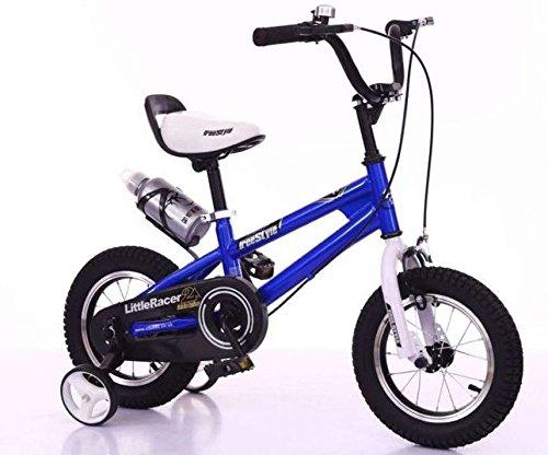 Little Racer Freestyle BMX Kinder Fahrräder in blau 30,5 cm erhältlich