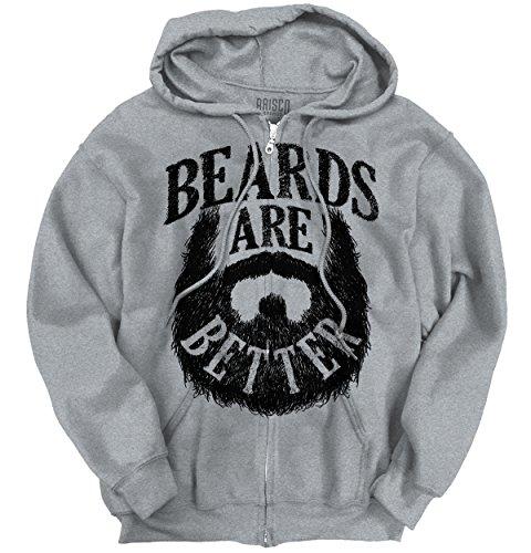 Beards Novelty Fashion Zipper Hoodie product image