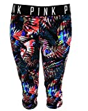 Victorias Secret Pink Ultimate Extreme Tropical Crop Yoga Pants Extra Small