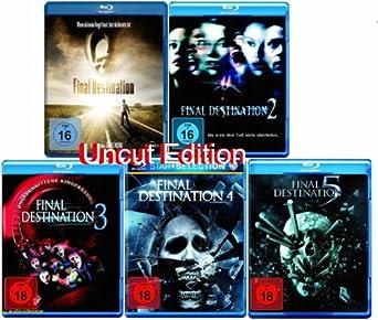 Final Destination 12345 Blu Ray Uncut Fsk 18 Edtion Set Amazon