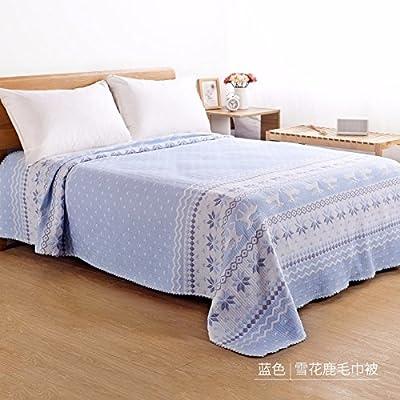 Ropa de cama blanda de tela ligera cálida Manta de cama, toallas ...