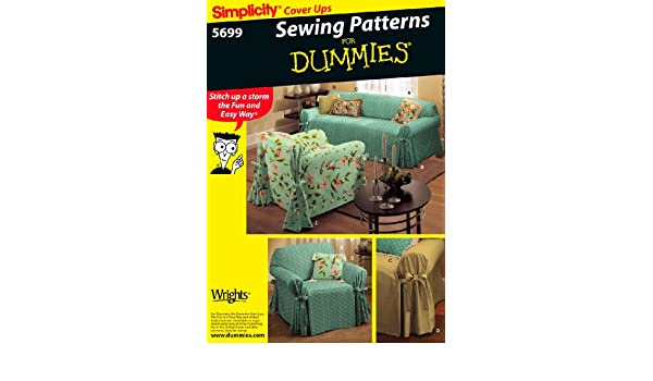 Amazon.com: Simplicity Sewing Pattern 5699 Home Decorating ...