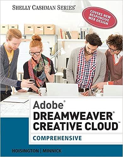 Adobe Dreamweaver Creative Cloud Comprehensive Stay Current With Adobe Creative Cloud Hoisington Corinne Minnick Jessica 9781305267220 Amazon Com Books